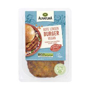 Alnatura Rote Linsen Burger