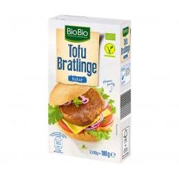 BioBio Vegane Tofu Bratlinge Natur