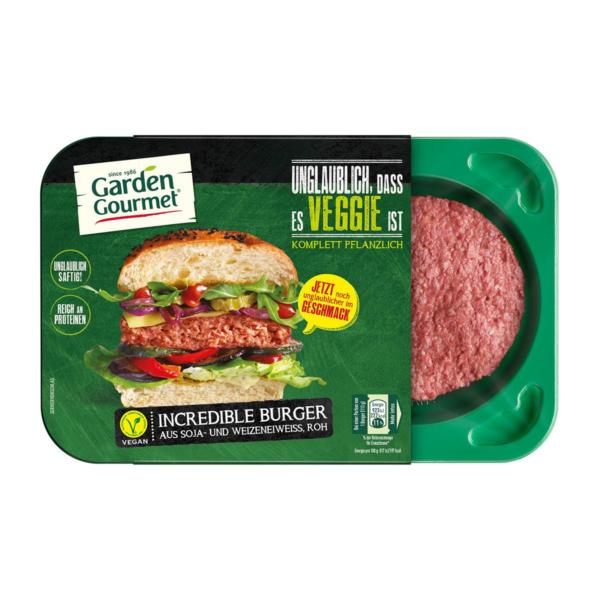 Garden Gourmet Incredible Burger