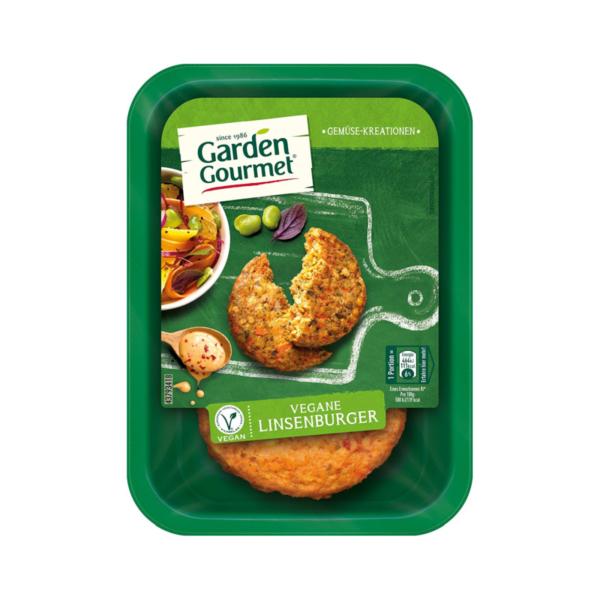 Garden Gourmet Vegane Linsenburger