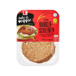 take it veggie Vegane Burgerscheiben