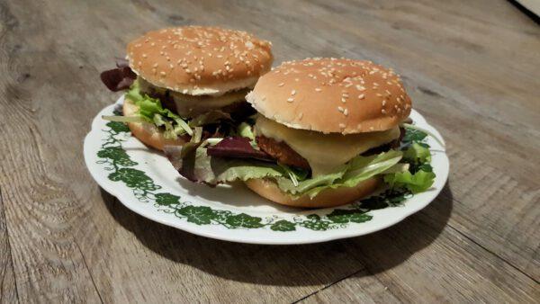 My Best Veggie Vegetarische Burgerscheiben