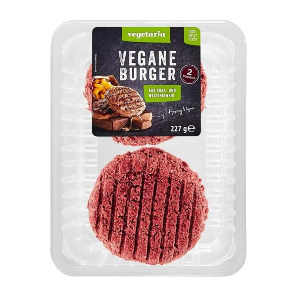 vegetar!a Vegane Burger