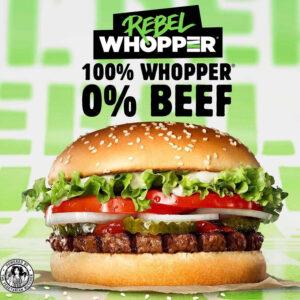 Burger King Rebel Whopper