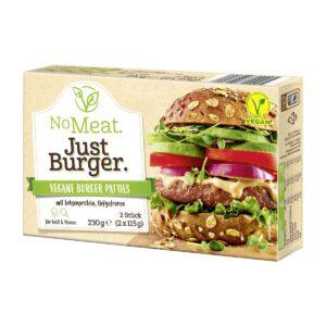 No Meat. Just Burger.