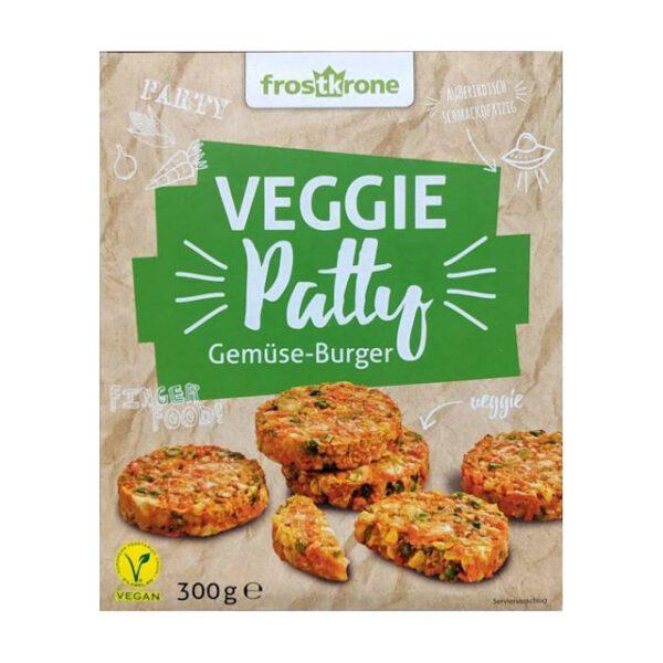 Frostkrone Veggie Patty Gemüse-Burger