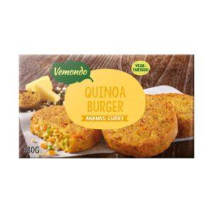 Vemondo Quinoa Burger Ananas-Curry