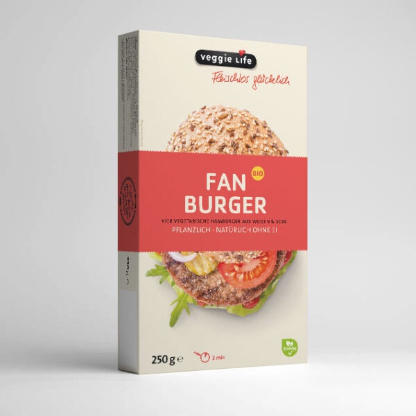 veggie Life FAN BURGER