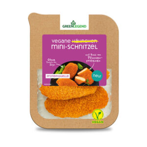 Green Legend Vegane Hähnchen Mini-Schnitzel