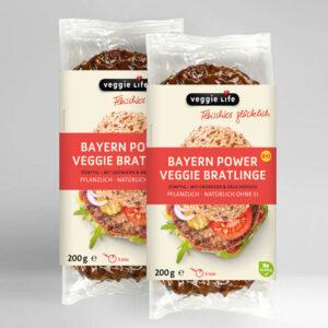 Veggie Life Bayern Power Veggie Bratlinge