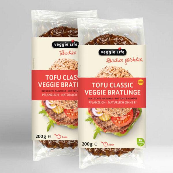Veggie Life Tofu Classic Veggie Bratlinge
