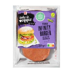 K take it veggie Veganer Infinity Burger