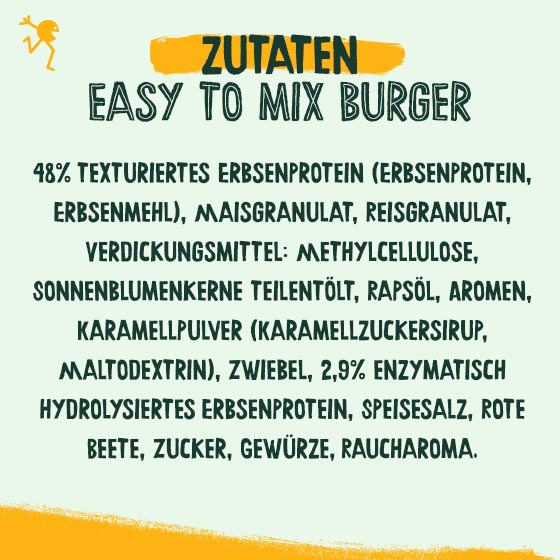Greenforce Easy To Mix Burger