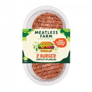 Meatless Farm 2 Burgers