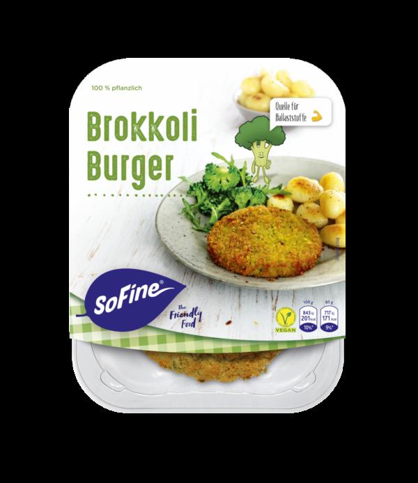 SoFine Brokkoli Burger